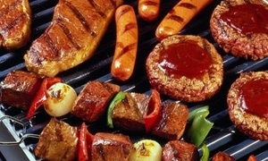 That Meat Place: 42- or 84-Piece BBQ Meat Hamper with Chicken, Beef and Pork at That Meat Place