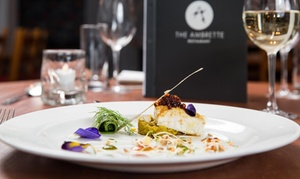 The Ambrette: £50 or £100 Toward Food and Drink for Two or Four at The Ambrette