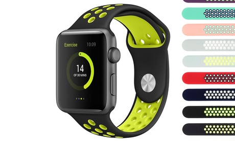 1 ou 2 bracelets en silicone Apple Watch