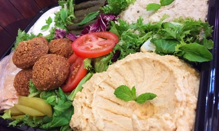 Lebanese Meze for Two or Four at Byblos Cafe