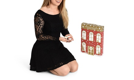 One £14.99, Two £28.99 or Four £55 Wax Lyrical Christmas Fragrance Advent Houses