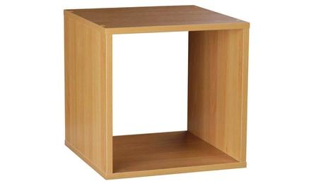 Contemporary Beech Bookcase