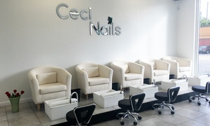 Ceci Nail Salon & Spa: One or Two Mani-Pedis at Ceci Nail Salon & Spa (Up to 42% Off)