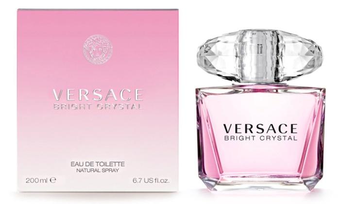Versace Bright Crystal Eau de Toilette for Women (6.7 Fl. Oz.)