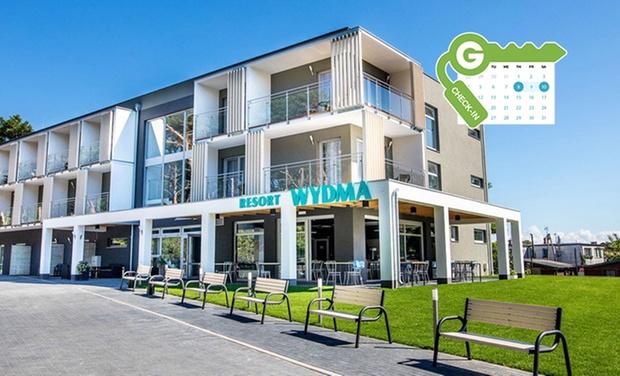 Wydma Resort Mrzeżyno - Mrzeżyno: Polnische Ostseeküste: Doppelzimmer für Zwei mit Spa-Zugang im Wydma Resort Mrzeżyno