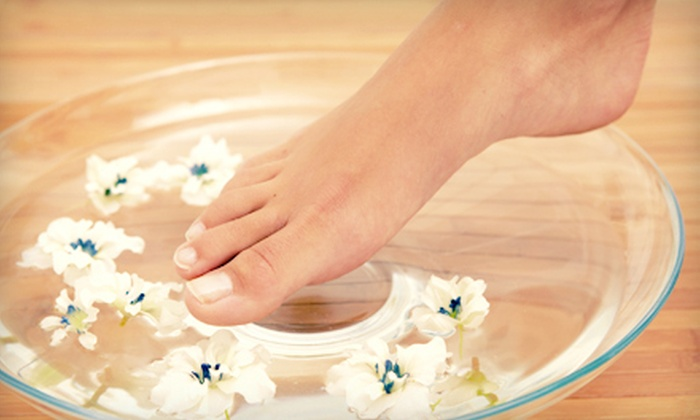 W Nails & Spa - Aurora Highlands: $29 for a Citrus Mint and Avocado Pedicure at W Nails & Spa ($60 Value)
