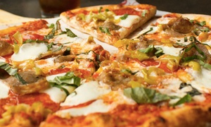My Pie: Two Custom Pizzas and Soft Drinks at My Pie )Up to 41% Off)