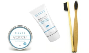 Brosse à dents, dentifrice et poudre de blanchiment
