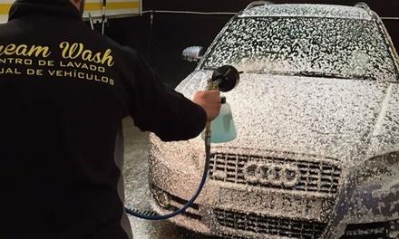Lavado manual interior y exterior de coche con opción a tratamiento de ozono o limpieza de tapicería en Dream Wash
