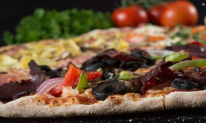 Burattino Brick Oven Pizza: Pizza and Italian Cuisine for Two or Four at Burattino Brick Oven Pizza (Up to 52% Off)