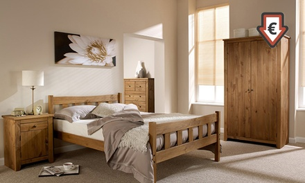 Handcrafted solid pine shaker style bedroom furniture buy for Best deals on bedroom furniture
