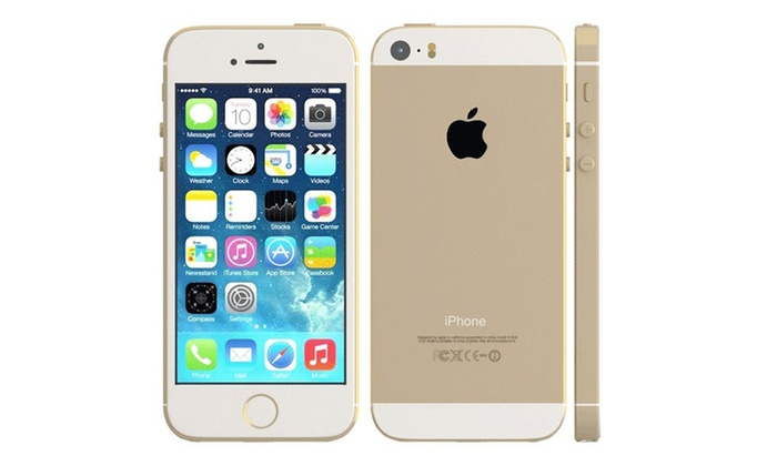 apple iphone 5s 16 32 64 go ou 128 go groupon. Black Bedroom Furniture Sets. Home Design Ideas