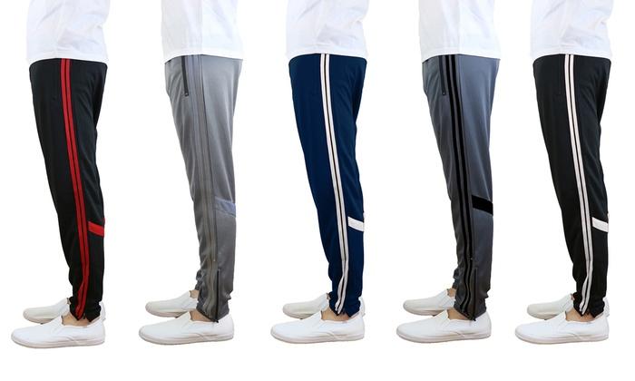 Men's Moisture-Wicking Jogger Track Pants