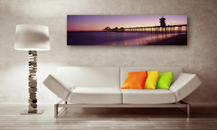"Larger Than Life Prints: C$35 for a 48""x12"" Panoramic Wall Mural from Larger Than Life Prints (US$86 Value)"