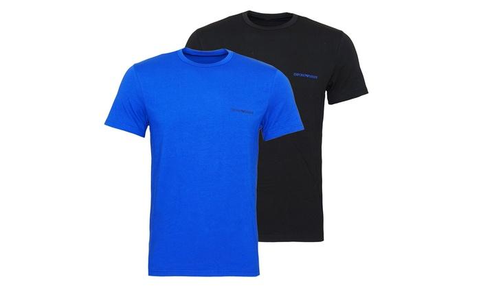 Jusqu à 27% T-shirts Emporio Armani   Groupon 6fd1bc04dea