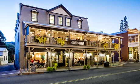Stay at Hotel Sutter in Sutter Creek, CA. Dates into April. b24028ad-ac67-44ce-8762-6c102c7b8f1c