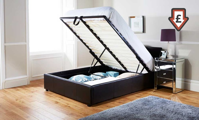 End-Lift Ottoman Storage Bedframe from £109.99 With Free Delivery (Up to 57% Off)
