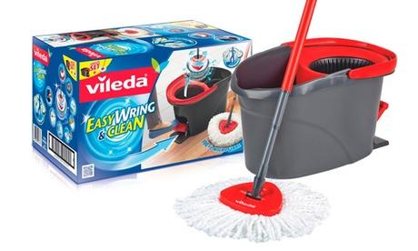 1 o 2 sets de fregona giratoria vileda Easy Wring&Clean con opción a recambio
