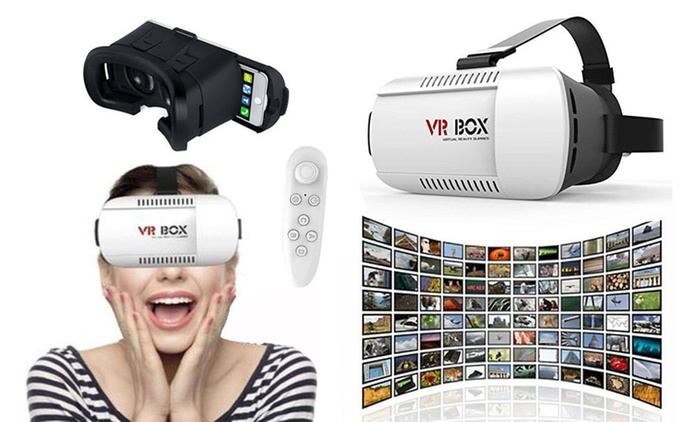 $29 for 3D Virtual Reality Glasses for iPhone or Android Smartphones or $39 with a Bluetooth Remote Control