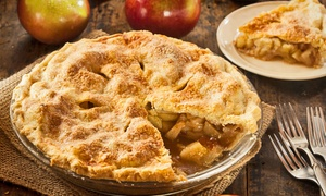 Molly Moo's: One or Two 10-Inch Thanksgiving Pies at Molly Moo's (Up to 40% Off)