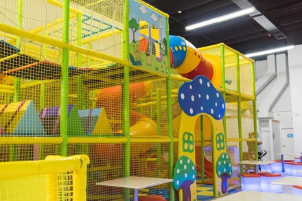 Open Play Admission for One or Two Children at Mawi Play Cafe (Up to 64% Off). Four Options Available.