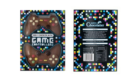 One or Two Sets of Milk Chocolate Game Controllers