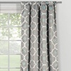 Gingalia Triple-Weave Room-Darkening Pole-Top Blackout Panel Pair