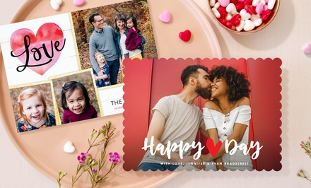 40, 70, or 100 Custom Photo Cards from PhotoAffections (Up to 78% Off )