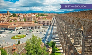Segovia: 1, 2 o 3 noches para dos con detalle de bienvenida y late check-out en Hotel Acueducto