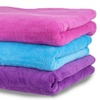 Everyday Home Soft Velvet Fleece Throw Blankets