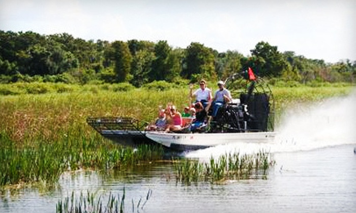 Wild Willy's Airboat Tours - Kissimmee Park: $21 for a One-Hour Airboat Tour from Wild Willy's Airboat Tours (Up to $39.25 Value)