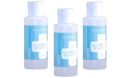 Hand Sanitizer Gel with Aloe and Vitamin E (2 Oz.)