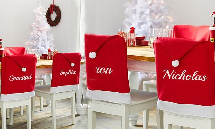 xxxx: Personalised Christmas Seat Decoration from €12.95 (Up to 57% Off)