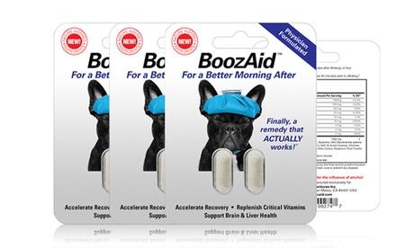 BoozAid Anti-Hangover Pills (3-Pack of Single or Double Serving) ca3c3002-7f78-11e6-8f49-00259060b5da