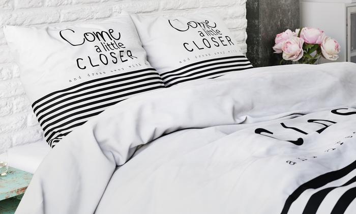 housse de couette disponible dans plusieurs mod les groupon. Black Bedroom Furniture Sets. Home Design Ideas