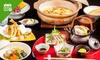 旬の松茸を食べ尽くす「松茸コース」全8品