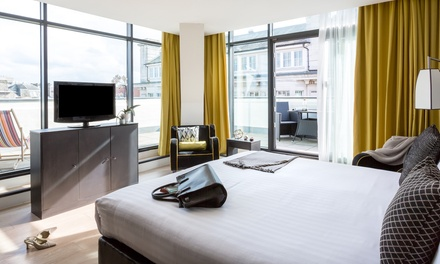Newcastle: Standard, King or Superior Room for Two with Breakfast and a Glass of Wine at 4* Mystery Hotel