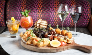 Walrus Social House: Premium Tapas Banquet for Two, with Wine/Beer ($59) or Cocktails ($69) at Walrus Social House (Up to $120 Value)