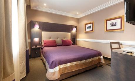 París: habitación doble para 2 personas con desayuno y crucero por el río Sena en Hotel Elysees