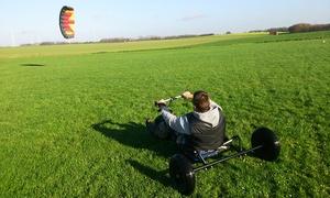 DIM KITE: 2h d'initiation découverte du Kite Buggy pour 1, 2 ou 4 personnes chez Dim Kite