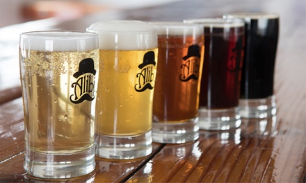 One or Two Flights and Souvenir Growlers at Alibi Ale Works (Up to 38% Off); Two Options Available
