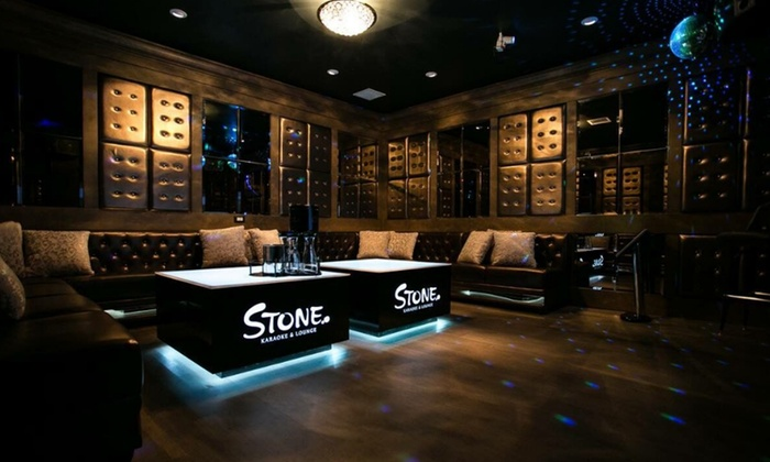 Stone lounge 49 off bellevue wa livingsocial for Living room karaoke