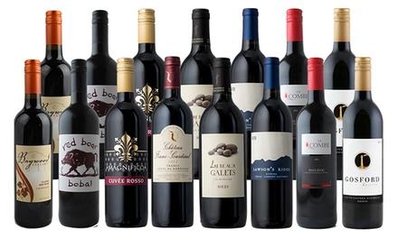 15 Summer Red Wine Bottles Splash Wines Groupon