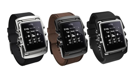 Meta M1 Luxury Smart Watch for iOS and Android