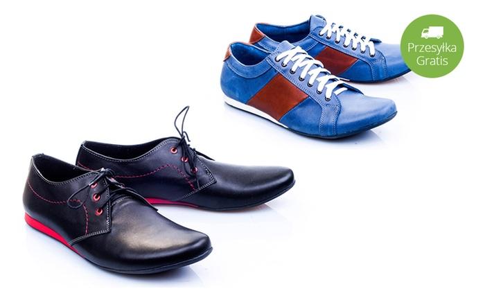Stylowe buty męskie: 4 modele | Groupon