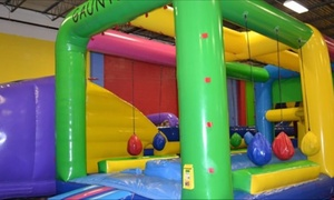 One, Three, or Five Toddler Time Sessions at Bouncers and Slydos (Up to 52% Off)