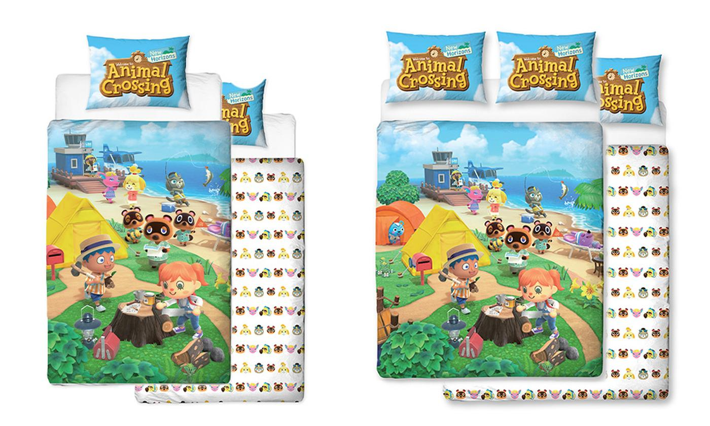 Animal Crossing Duvet Set