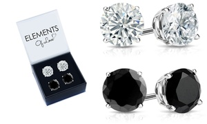 Stud Earrings Set Made with Swarovski Crystals by Elements of Love
