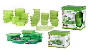 Debbie Meyer Green Food Containers and Bag Sets (16-, 32-, or 72-Pc.)