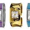 Vernier Women's Bangle Watches